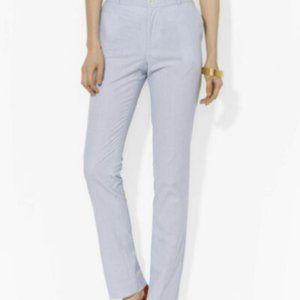 LAUREN RALPH LAUREN Women's Edita Seersucker pants